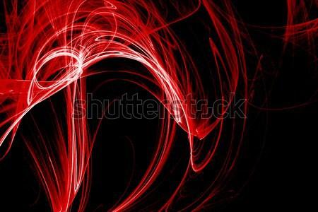 Stock fotó: Absztrakt · futurisztikus · fraktál · textúra · fény · festék