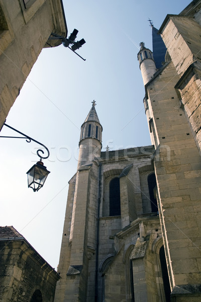 A Church In Dijon City Stock photo © chrisroll
