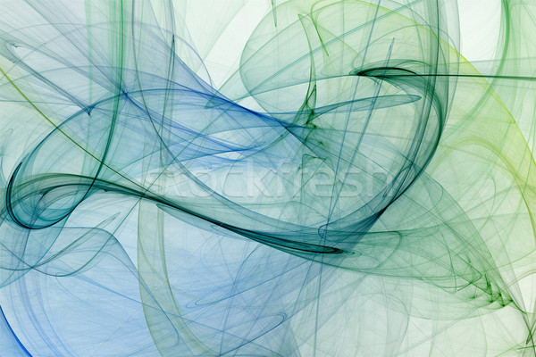 Absztrakt futurisztikus fraktál textúra fény festék Stock fotó © chrisroll