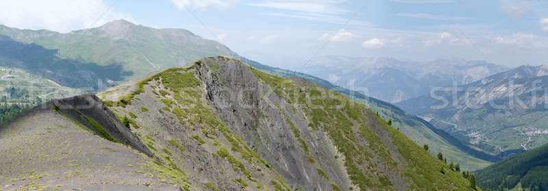 Mountain landscape Stock photo © chrisroll