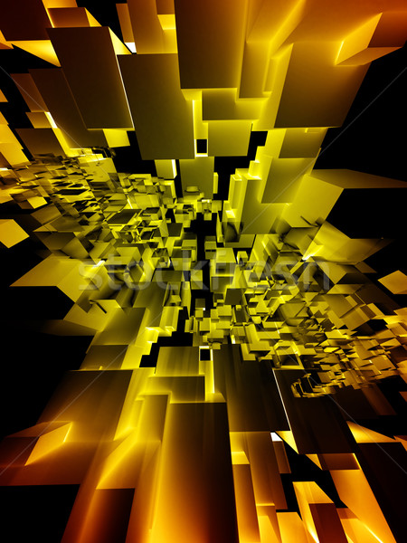 建築の デザイン 抽象的な 黒 速度 マーケティング ストックフォト © chrisroll