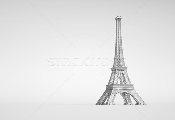 Eiffel Tower In Paris Stock photo © chrisroll