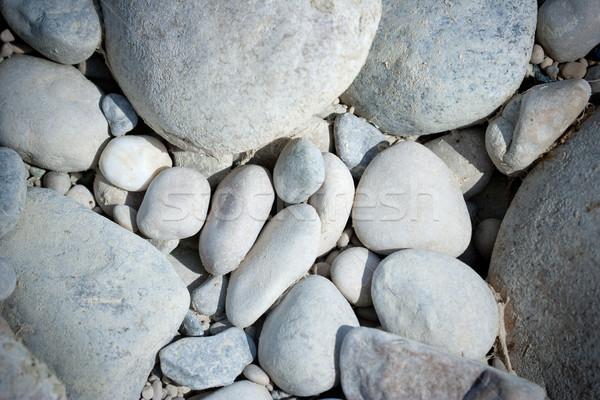 Blanche cailloux texture lumière Rock détendre Photo stock © chrisroll