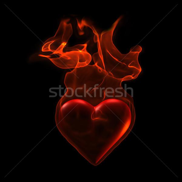 Ardent heart Stock photo © chrisroll