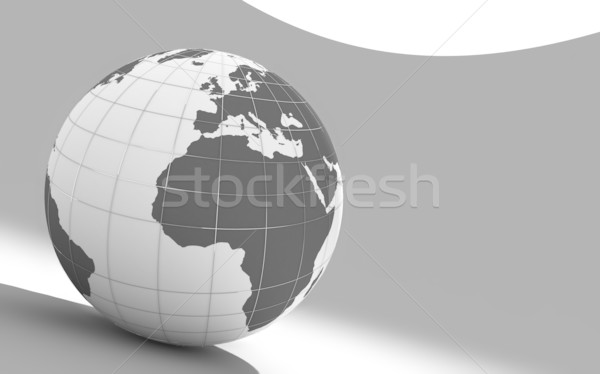 3d earth Stock photo © chrisroll