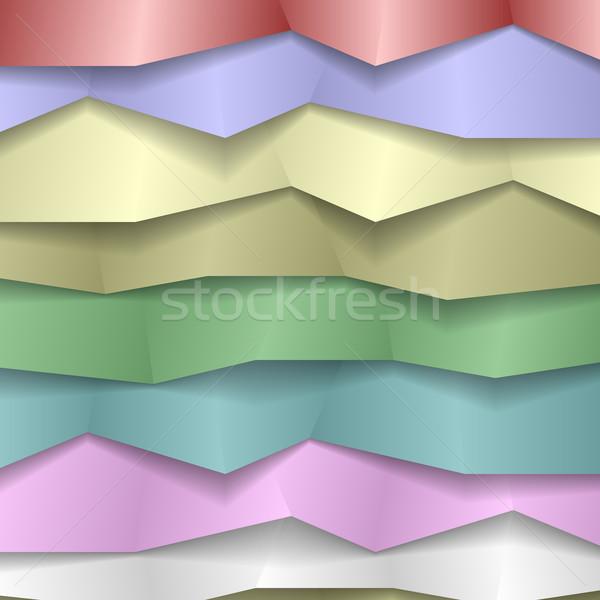 Folded Paper Background Stock photo © christopherhall