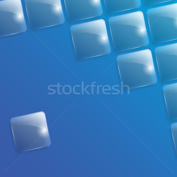 Verre carré illustration fond couleur image Photo stock © christopherhall