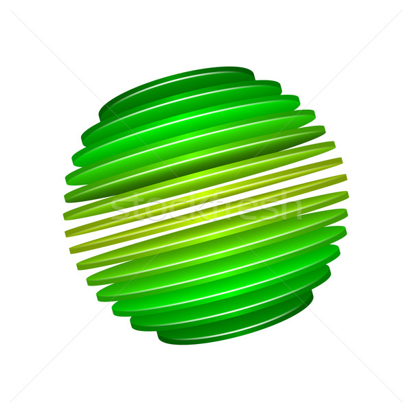 Sphère design eps10 format utilisé Photo stock © christopherhall