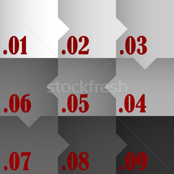 Design eps10 format utilisé affaires signe Photo stock © christopherhall