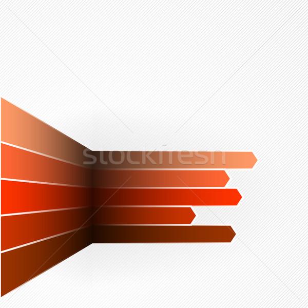 Illustration eps10 format utilisé couleur Photo stock © christopherhall