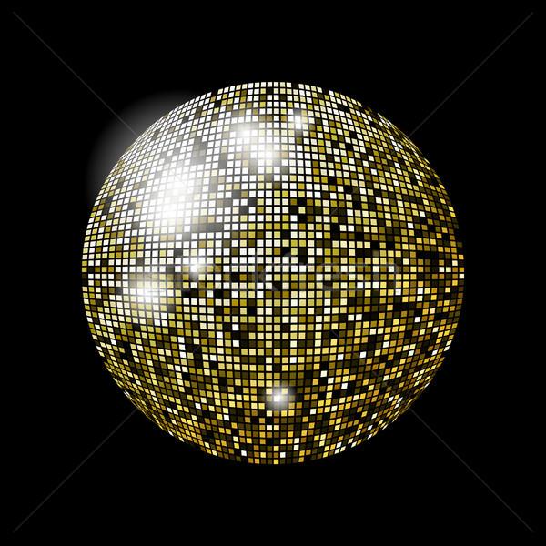 Glitter balle design eps10 format utilisé Photo stock © christopherhall
