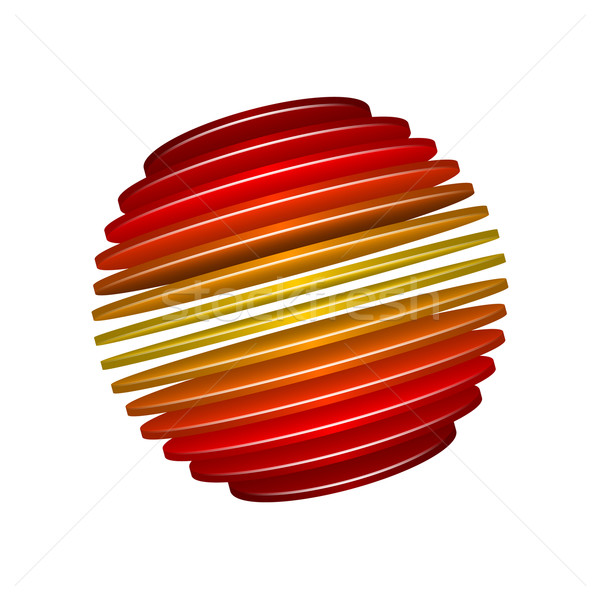 Sliced Sphere Stock photo © christopherhall