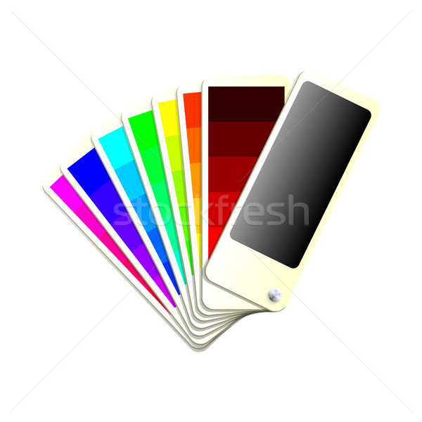 Colour Chart Stock photo © christopherhall