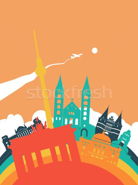 旅行 世界 ランドマーク 風景 実例 塔 ストックフォト © cienpies