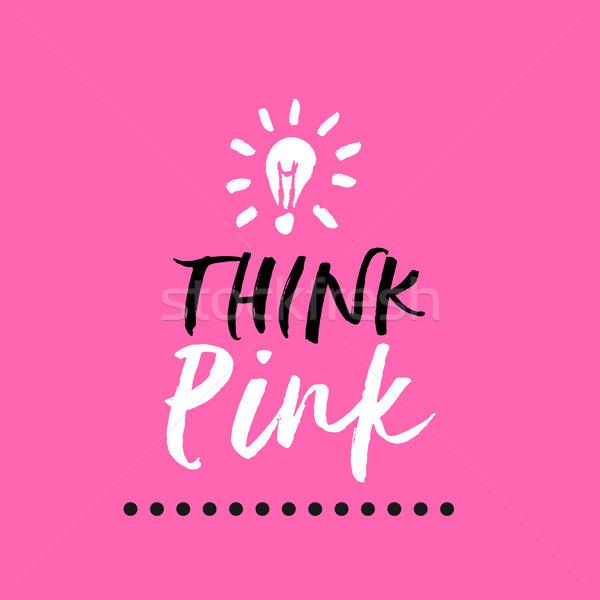Сток-фото: Рак · молочной · железы · осведомленность · месяц · розовый · болван · цитировать
