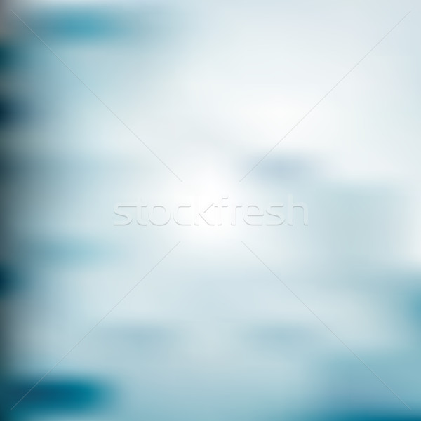ストックフォト: 抽象的な · 光 · ぼかし · テンプレート · 現代 · 青