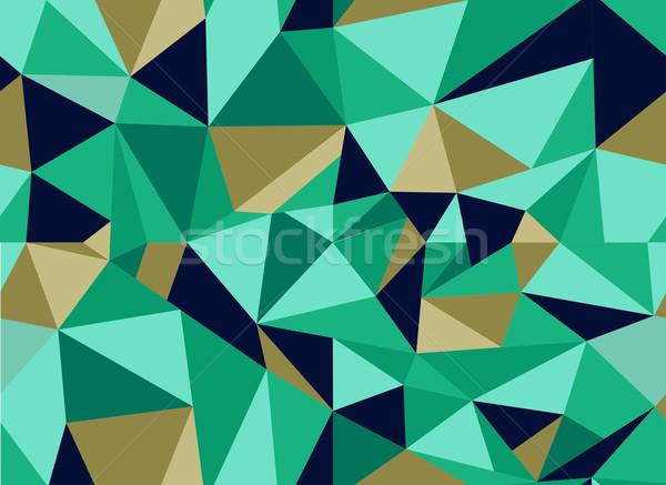 Stock photo: Trendy abstract geometric seamless pattern