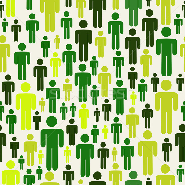 Yeşil sosyal medya insanlar model iş adamları bağlantı Stok fotoğraf © cienpies