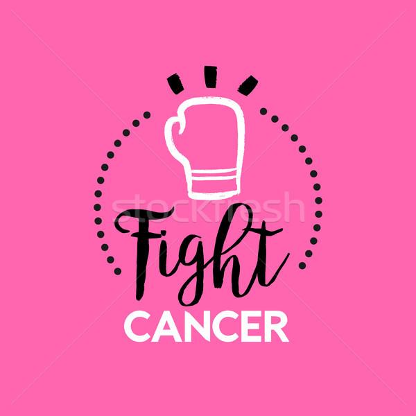 Сток-фото: Рак · молочной · железы · осведомленность · месяц · розовый · типографики · текста