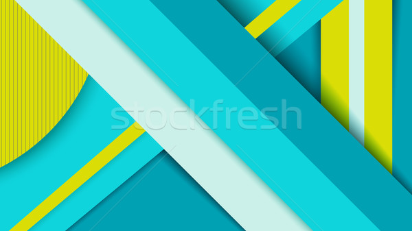 Geometry background, material design concept Stock photo © cienpies