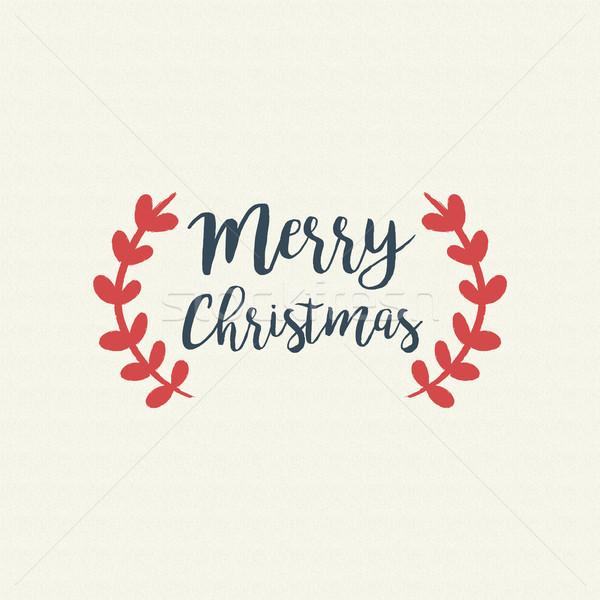 ストックフォト: クリスマス · 文字 · 引用 · タイポグラフィ · 芸術 · 実例