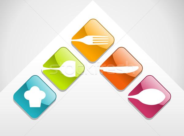 Stockfoto: Kleurrijk · veelkleurig · glanzend