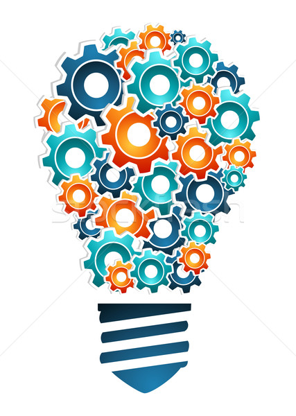 Industrial innovation concept Stock photo © cienpies