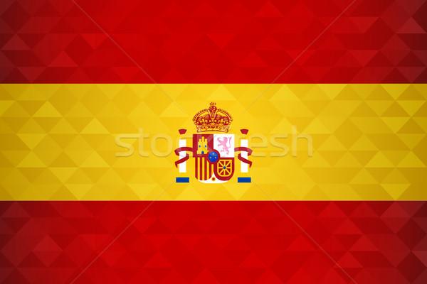 スペイン 国 フラグ スペイン語 国家 特別 ストックフォト © cienpies