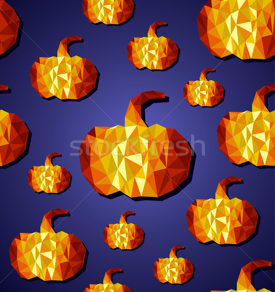 Halloween eps10 file abstract geometrica Foto d'archivio © cienpies