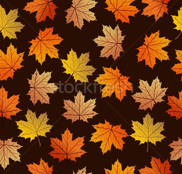Vintage eps10 файла осень Сток-фото © cienpies