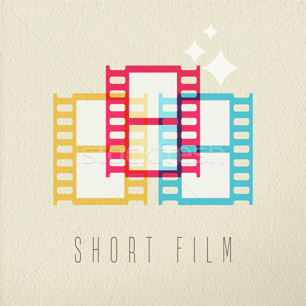 Stockfoto: Kort · film · fotografie · icon · kleur · ontwerp