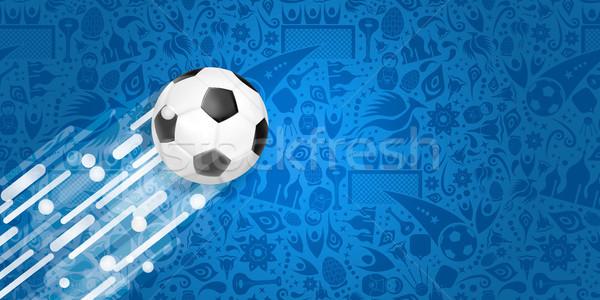 Futball háló szalag különleges sport játék Stock fotó © cienpies