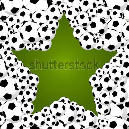ブラジル 2014 世界 サッカー 選手権 星 ストックフォト © cienpies