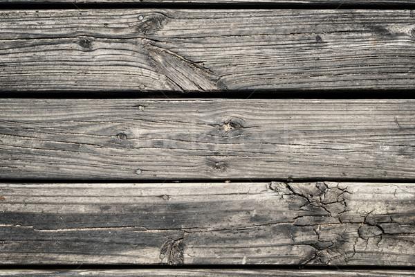 木材 階 グランジテクスチャ 先頭 ストックフォト © cienpies
