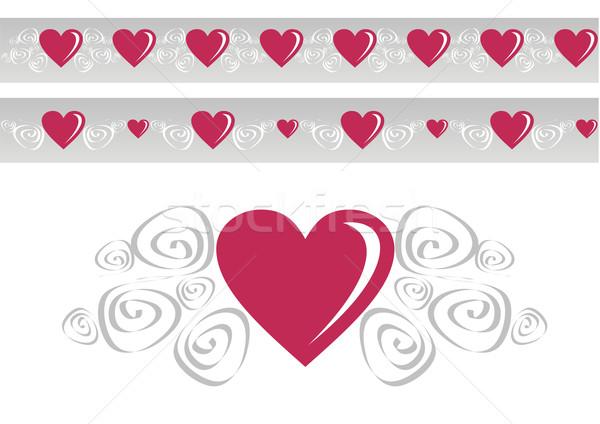 Loving heart Stock photo © cienpies