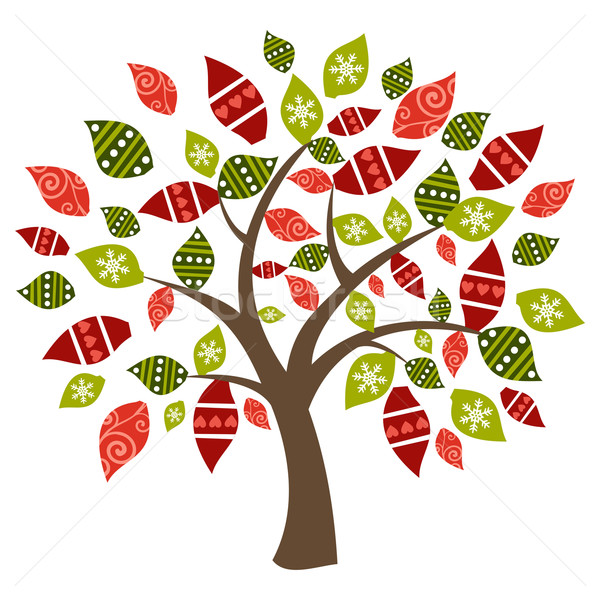 Stock photo: Abstract spring time tree