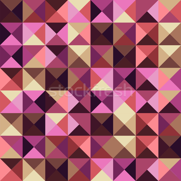 Abstract geometric vintage background Stock photo © cienpies