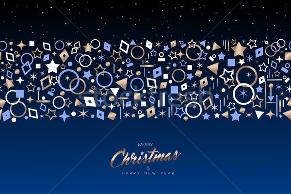 Zdjęcia stock: Christmas · nowy · rok · miedź · wakacje · ikona · karty