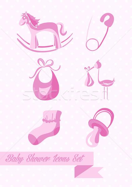 Сток-фото: ребенка · душу · девушки · дизайна · иллюстрация