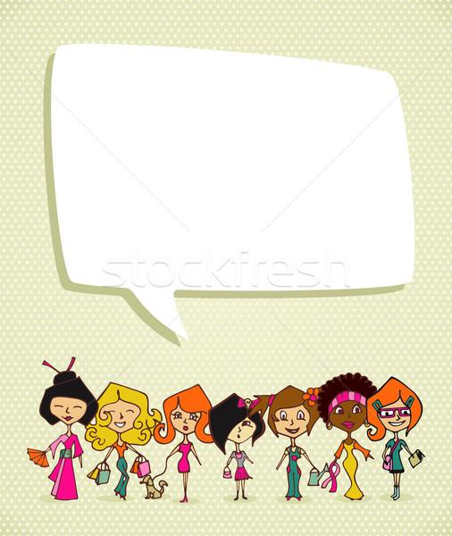 Diversity 8 march International Women Day Stock photo © cienpies