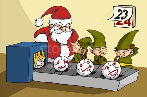 Ups atrapado bromas navidad juguete fábrica Foto stock © cienpies