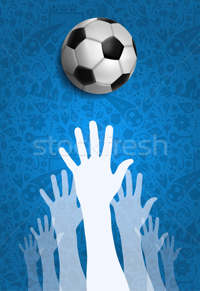 Russia sport event community background Stock photo © cienpies