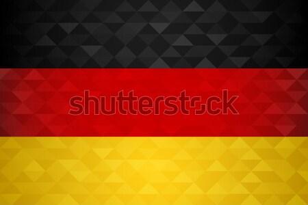 Stock fotó: Németország · zászló · orosz · futball · esemény · szimbólum
