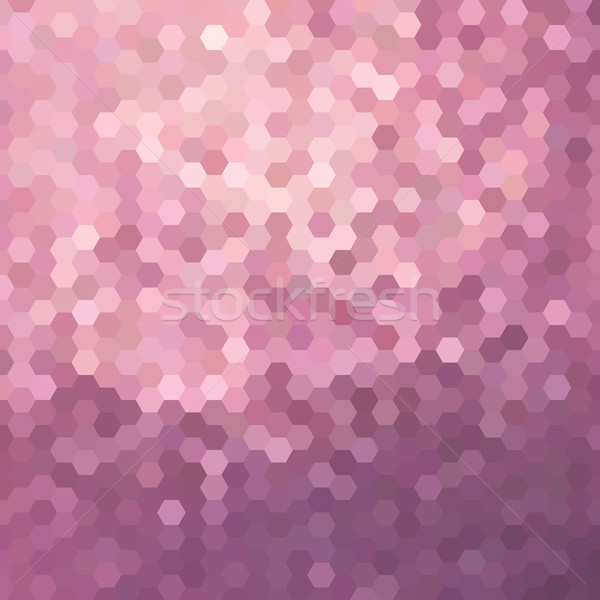 Pink honeycomb background illustration Stock photo © cienpies