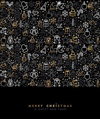 Navidad año nuevo cobre tarjeta alegre Foto stock © cienpies