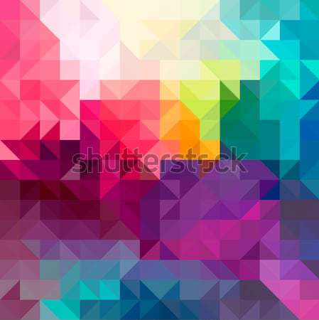 Abstract colorful seamless pattern background Stock photo © cienpies