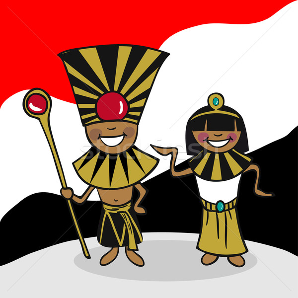 Welcome to Egypt people Stock photo © cienpies
