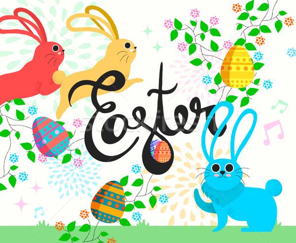 ストックフォト: バニー · 実例 · 春 · シーズン · イースター