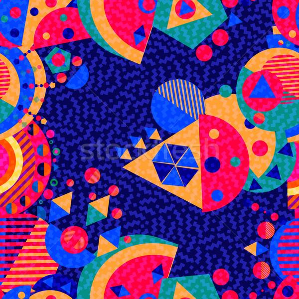 ストックフォト: 抽象的な · 色 · 幾何学的な · モダンなスタイル