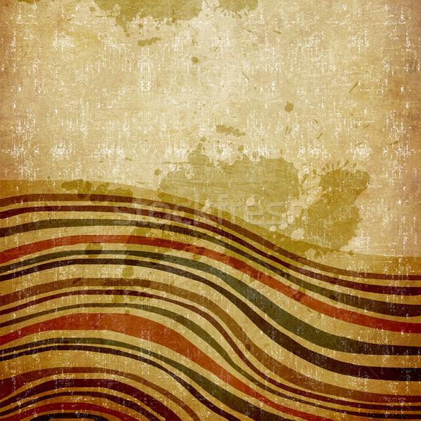 Grunge lines background Stock photo © cienpies